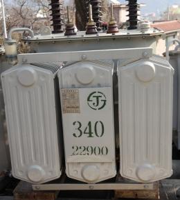 전력용  220v 단독340kva 변압기, 중고변압기