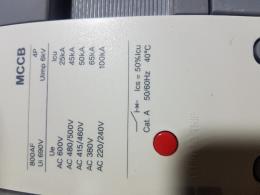 4p600A  MCCB 신품