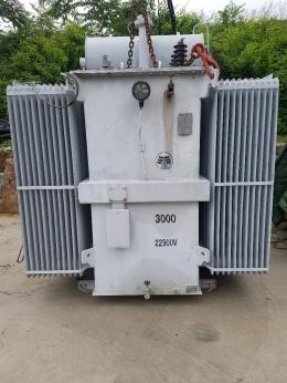 TR 3000kva 22.9kv 6600v 중고변압기, 변압기