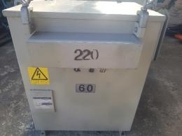 TR 60kva 380/220v 복권 다운/승압 변압기, 중고변압기