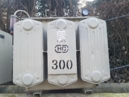 300KVA 다운/승압 복권 변압기, 중고변압기