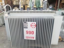 990 kva  22.9kv-380v/220v 중고변압기, 변압기
