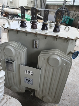 TR 150kva 440/380 다운/승압 변압기, 중고변압기