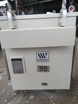 TR50kva 380/440v, 중고변압기, 변압기