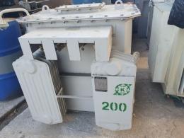TR 200kva 440/440v-254v, 중고변압기, 변압기