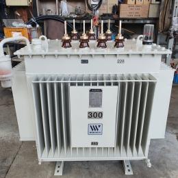 TR 300kva 440v/380-220v 변압기, 중고변압기