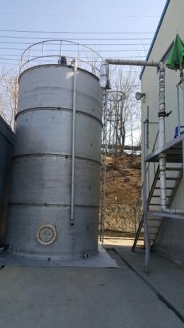 믹싱탱크 저장탱크 주문제작사례 52톤
