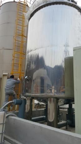 믹싱탱크 저장탱크 주문제작사례 20톤