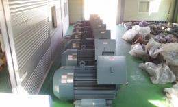 효성 고압 모터 375KW(500HP)*6P*60HZ*6600V