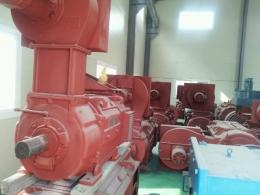 야스카와 DC모터 125KW(167HP)*1200RPM*440V