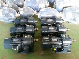 삼양 브레이크 기어드 모터 3HP*4P*60HZ*220/380V (1/100)