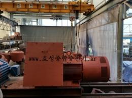 현대 고압 모터 275KW*6P*60HZ*6600V