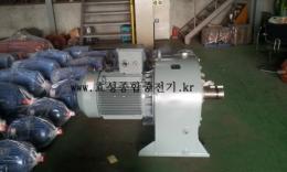 효성 신형 기어드 모터 75HP*4P (1/30)