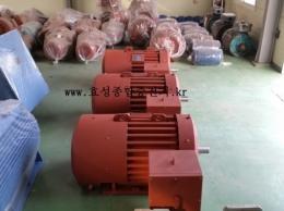 효성 고압 모터 150HP*4P*60HZ*6600V