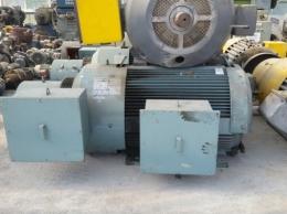 효성 고압 권선형 모터 및 저항기 300HP*10P*60HZ*3300V