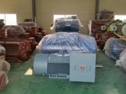 현대 고압 모터 400KW*4P*60HZ*3300V
