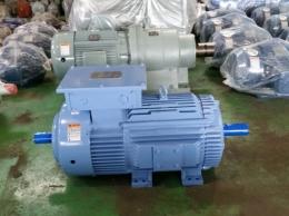현대 양축 권선형모터 30HP*6P*60HZ*380V