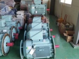 효성 버티컬 모터 60KW(80HP)*4P*60HZ*440V