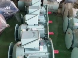 효성 버티컬 모터 65KW(87HP)*4P*60HZ*440V