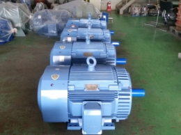 현대모터 100HP*6P*60HZ*440V