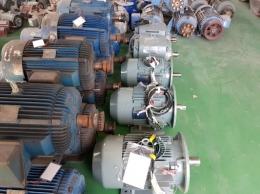 한신 반폐 모터 60HP*4P*50HZ*380V