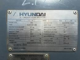 현대 고압모터 600HP*2P*50HZ*6000V