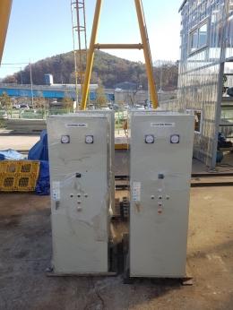 고압모터 기동 판넬 6600V