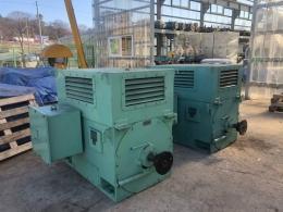 효성 사각 고압모터 390KW*2P*60HZ*3300V