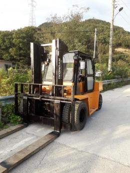 현대 중고 디젤지게차 7.5톤 HR