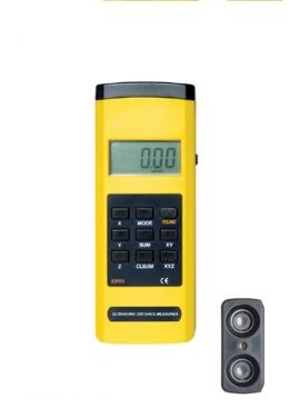 측정기, 초음파측정기, 초음파거리측정기 EM5555cm~15m,0.01m