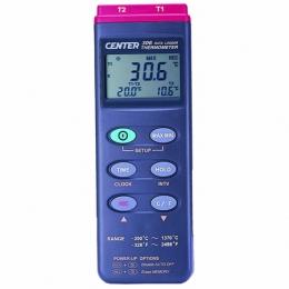 Datalogger 온도계Center306(dual input)