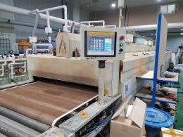 IR 컨베어 건조기 벨트폭 1,200mm 인쇄 컨베이어 실크 인쇄 등의 경화기 사용 전자제품
