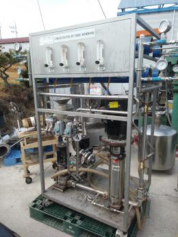 나노농축기, 나노정제수제조장치, RO정제수장치, 정제수제조기