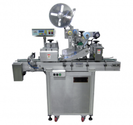상면용 자동 라벨 부착기(Auto-labeling machine for top side)