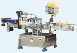 단 측면 or 양 측면 라벨 부착기 (Auto-labeling machine for one or both side)