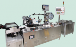 AMPOULE용 고속 라벨 부착기 (High type auto-labeling machine for  Ampoule)
