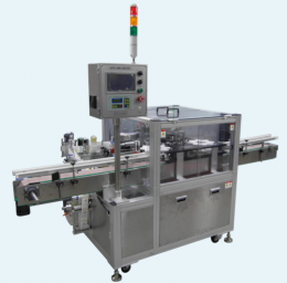 INDEX TYPE 병 라벨 부착기 (Index type auto-labeling machine for bottle)