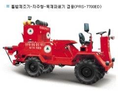 톱밥제조기-자주형-목재파쇄기 겸용, 우드칩제조기 (PRS-7700ED)