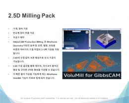 깁스캠 (GIBBS CAM), 2D / 3D 턴밀용(밀링+선반) CAD / CAM