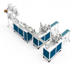 (완전자동화)마스크 기계, 마스크 생산설비, 덴탈마스크 머신, 마스크 공장