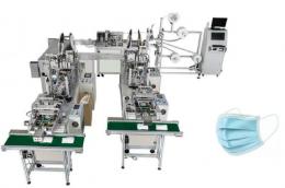 평면 마스크 자동 생산라인, 마스크기계, 마스크제조기계
