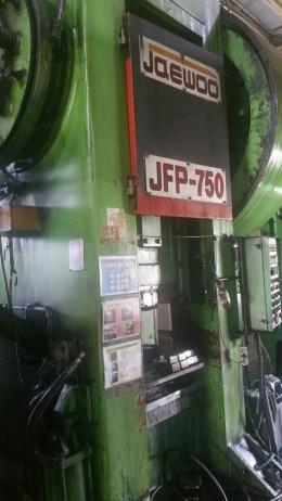포징프레스 750톤 라인