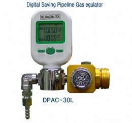디지털 배관용 가스 절약 조정기