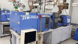 Jsw 전동 사출기 55톤 2002년 호파포함 1,350만원