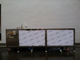 2단 수동 버블세척기,자동세척기,과일세척기.세척기