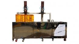 2단 버블 세척기(실린더형 자동)