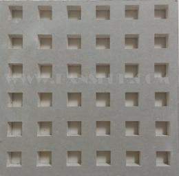 아트사운드사각10mm유공8등분(10-8)