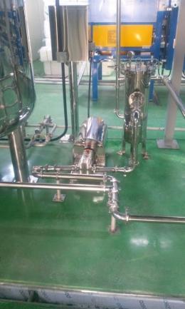 식품펌프, 농축액 이송 펌프