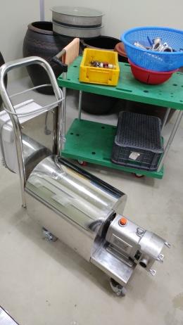 식품펌프, 소스이송펌프 / 이동형