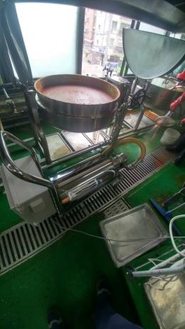 소스이송용 로브펌프(고추장, 아이스크림, 시럽 등)